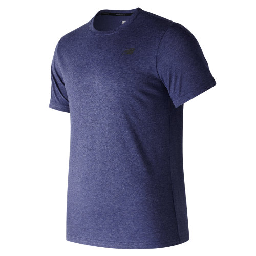 New Balance : Heather Tech Short Sleeve : Men's Performance : MT73080PGM