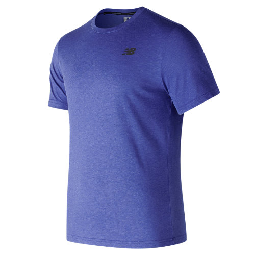 New Balance : Heather Tech Short Sleeve : Men's Performance : MT73080TRY