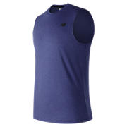 Heather Tech Sleeveless, Team Royal