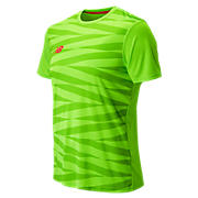 Elite Tech Training Graphic SS Jersey, Energy Lime