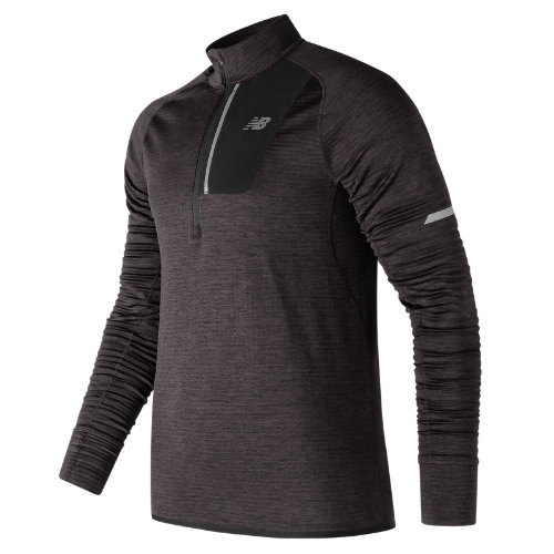 New Balance NB Heat Half Zip Boy's All Clothing - MT73220HC
