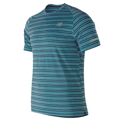 New Balance Seasonless Short Sleeve Boy's Performance - MT73233CDH