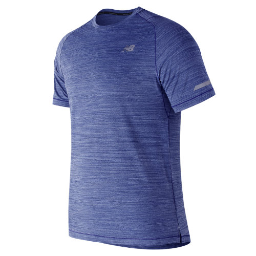 New Balance Seasonless Short Sleeve Boy's All Clothing - MT73233PFH