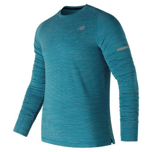 New Balance Seasonless Long Sleeve Boy's All Clothing - MT73236MAH