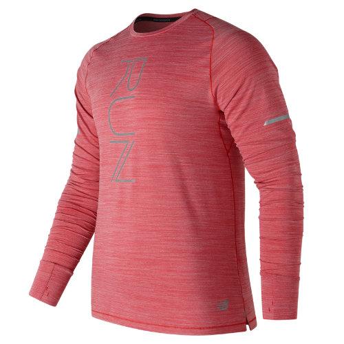 New Balance : Seasonless Long Sleeve : Men's Long Sleeve Shirts : MT73236TDH