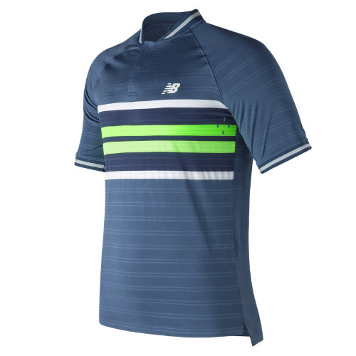 New Balance : Tournament Henley : Men's Tennis : MT73407VTI