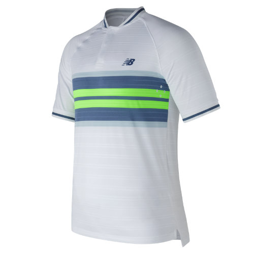 New Balance : Tournament Henley : Men's Tennis : MT73407WT
