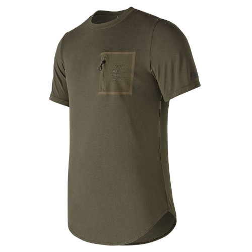New Balance : 247 Sport Pocket Tee : Men's Casual : MT73503MKG