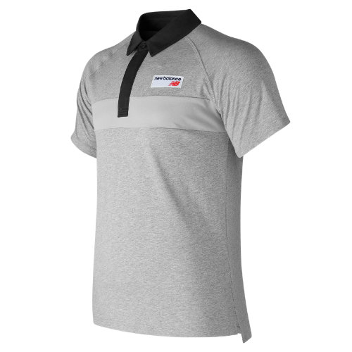 New Balance : NB Athletics Polo : Men's Casual : MT73508AG