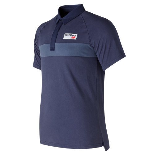 New Balance : NB Athletics Polo : Men's Casual : MT73508DCL