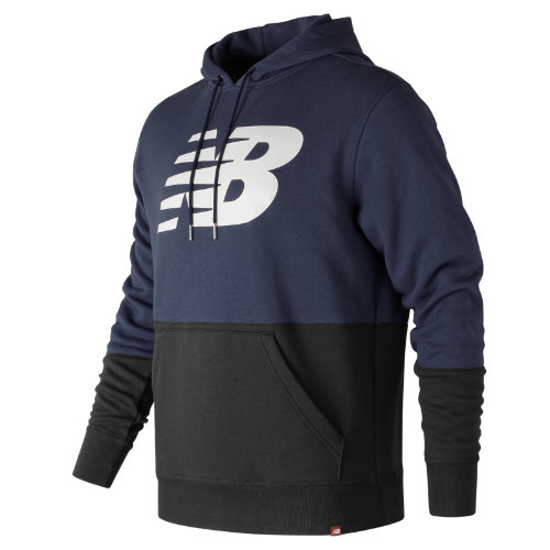 New Balance Essentials Pullover Hoodie Boy's All Clothing - MT73529DCL
