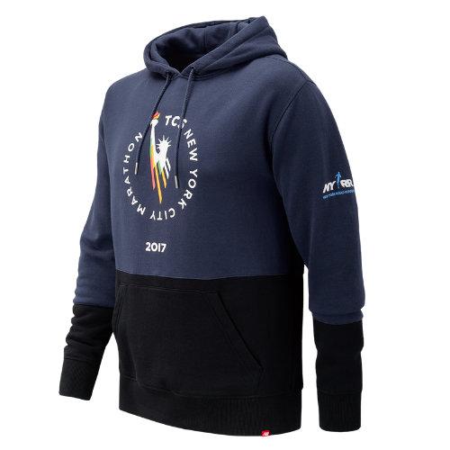 New Balance : NYC Marathon Essentials Pullover Hoodie : Men's Casual : MT73529VDCL