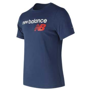 NB Athletics Main Logo Tee, Moroccan Tile