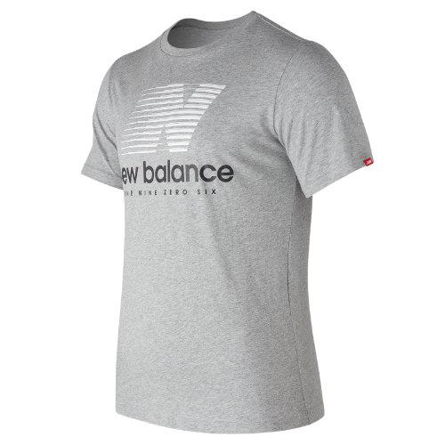 New Balance Essentials Speed Tee Boy's Men - MT73596AG