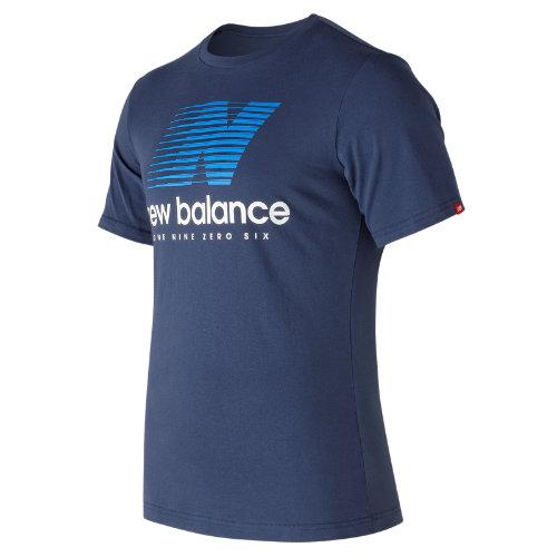 New Balance Essentials Speed Tee Boy's All Clothing - MT73596NV