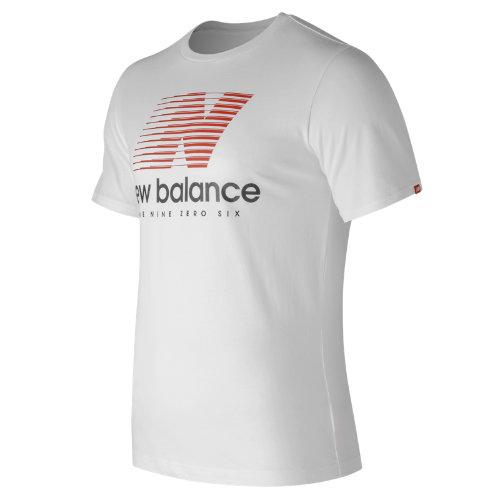 New Balance Essentials Speed Tee Boy's Men - MT73596WT