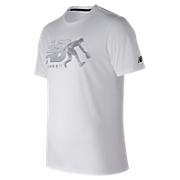 Beta Baseball 5050 Tee, White