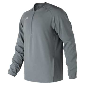 Men's Long Sleeve 3000 Batting Jacket, Gunmetal