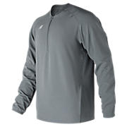Long Sleeve 3000 Batting Jacket, Gunmetal