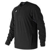 Long Sleeve 3000 Batting Jacket, Team Black