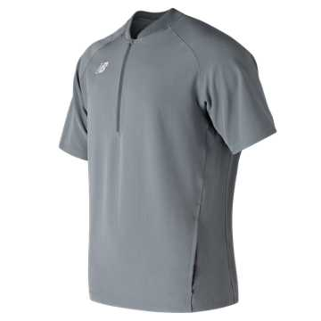 Men's Short Sleeve 3000 Batting Jacket, Gunmetal