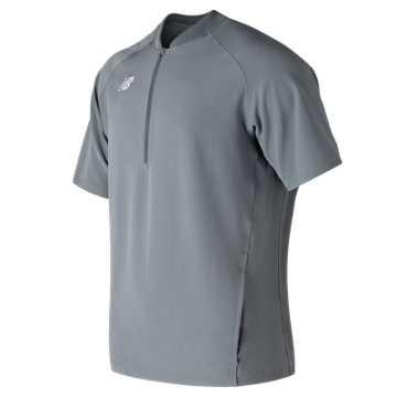 Men's Short Sleeve 3000 Batting Jacket, Gunmetal