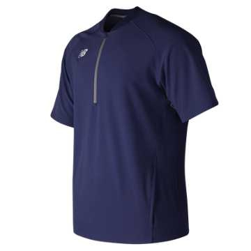 Men's Short Sleeve 3000 Batting Jacket, Team Navy