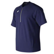 Short Sleeve 3000 Batting Jacket, Team Navy