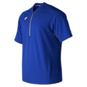 Men's Short Sleeve 3000 Batting Jacket, Team Royal