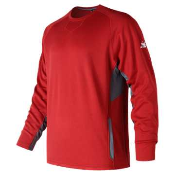 Men's Baseball Pullover 2.0, Team Red