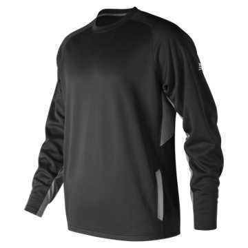 Men's Baseball Pullover 2.0, Team Black