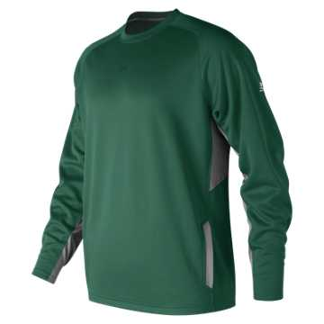 Men's Baseball Pullover 2.0, Team Dark Green