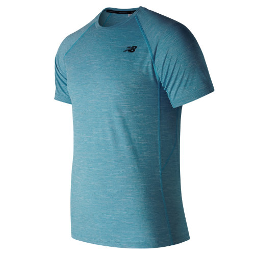 New Balance Tenacity Short Sleeve Boy's Performance - MT81095CAD