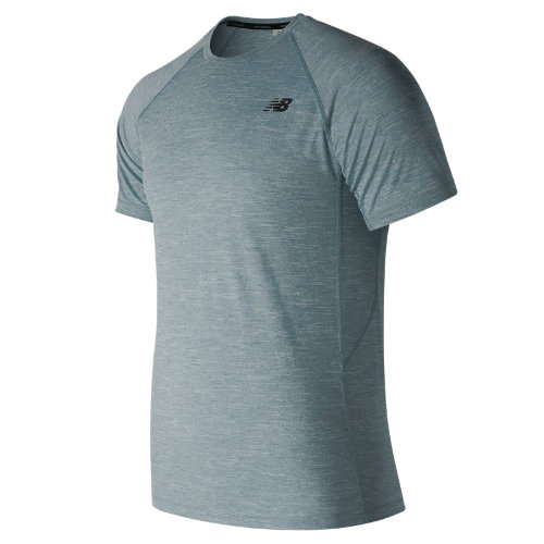 New Balance Tenacity Short Sleeve Boy's Performance - MT81095SBL