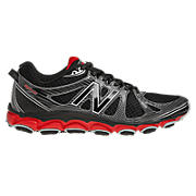 New Balance 810v2, Black with Red & Grey