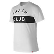 Essentials Track Club Tee, White