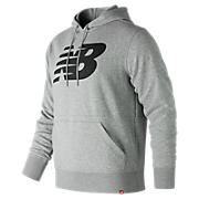 Essentials Pullover Hoodie, Athletic Grey