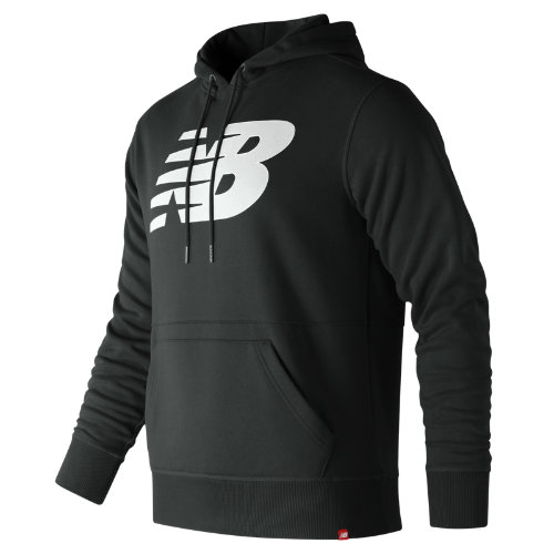 New Balance Essentials Pullover Hoodie Boy's Casual - MT81557BK