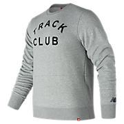 Essentials Track Club Crew, Athletic Grey