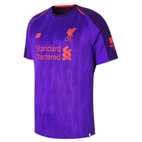 New Balance LFC Away Short Sleeve Jersey Boy's 2018/19 Away Kit - MT830019DV