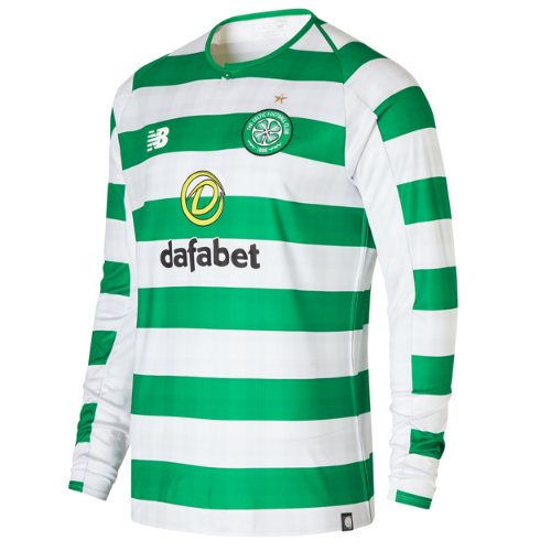 New Balance Celtic FC Home Long Sleeve Jersey Boy's Over €100 - MT830061WCG