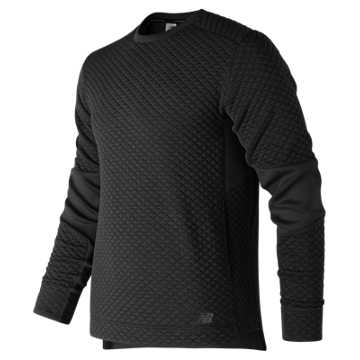 Men's Heat Loft Crew, Black