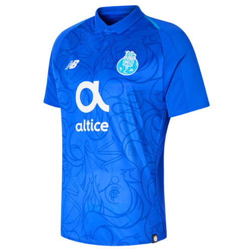 New Balance FC Porto Mens 3rd Short Sleeve Jersey Boy's Over €100 - MT830133DZB