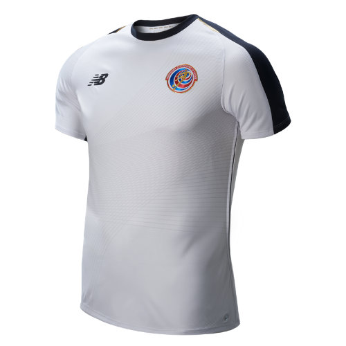 New Balance Costa Rica Away Short Sleeve Jersey Boy's Infant (Size: 21.5 - 27.5) - MT830330WT