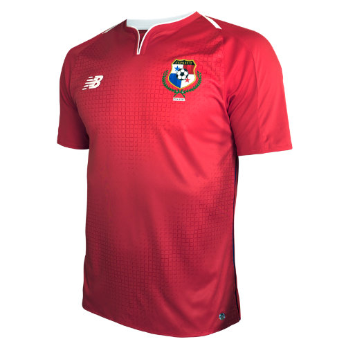 New Balance Panama Home Short Sleeve Jersey Boy's Panama National Team - MT830343PNR