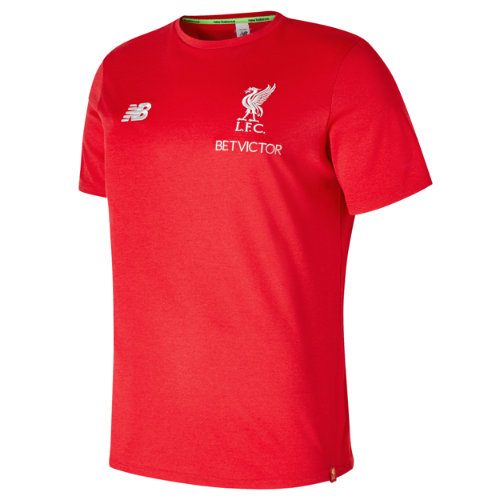 New Balance Liverpool FC Elite Leisure Short Sleeve Tee Boy's 2018/19 Elite Training - MT831033RRM