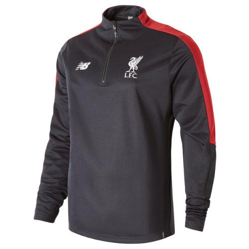 New Balance Liverpool FC Elite Training Quarter Zip Softshell No Sponsor Boy's 2018/19 Elite Training - MT831230BK