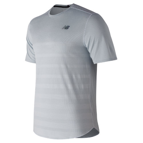 New Balance Q Speed Jacquard Short Sleeve Boy's Performance - MT83250AFH