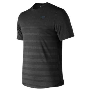 Q Speed Jacquard Short Sleeve , Black