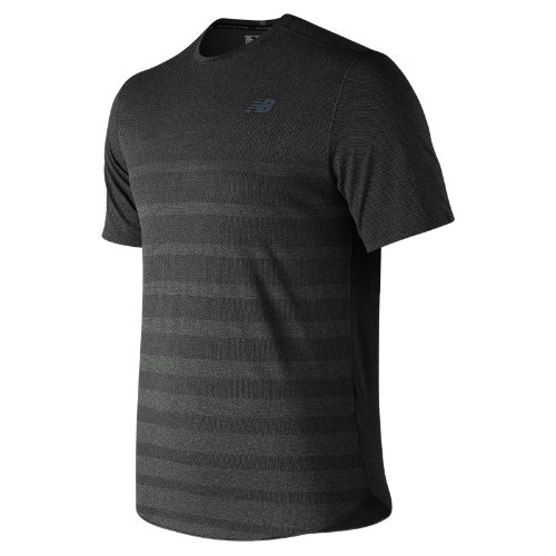 New Balance Q Speed Jacquard Short Sleeve Boy's Performance - MT83250BK
